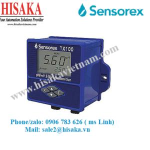 Bộ chuyển đổi tín hiệu pH, ORP Sensorex TX100