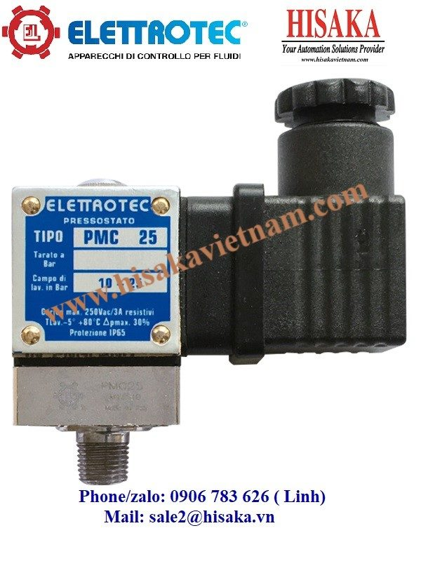 Công tắc áp suất PMC - PPC