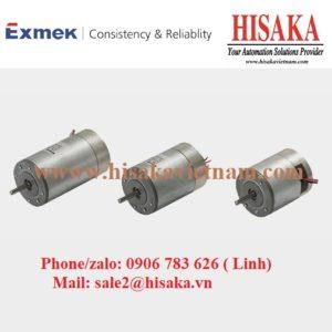 Động cơ chổi than DC Exmek MB040JS